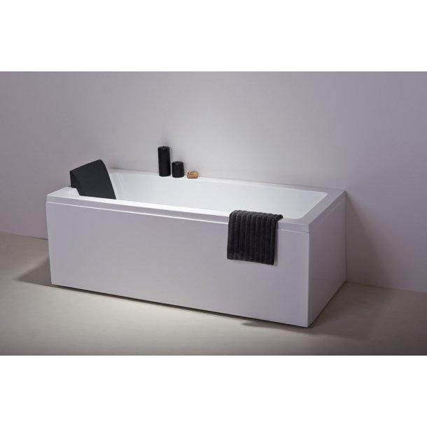 badekar liter Minimalistisk badekar (Malaga) 130, 150 eller 180 liter   Shoppool.dk badekar liter