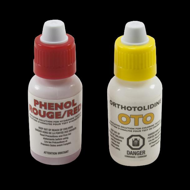 OTO refill flasker til testsættet