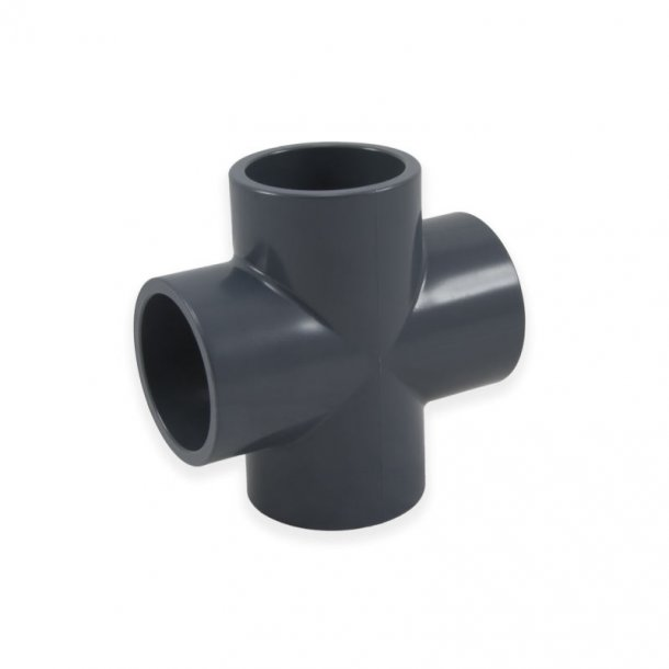 PVC kryds fittings