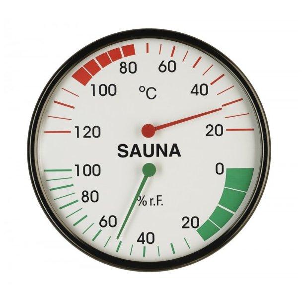 Termometer og hygrometer til sauna